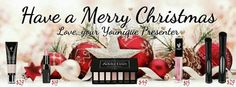 Have a Younique Christmas and Happy New Year! Affordable, nature based cosmetics that are good for your skin. Feel and look beautiful all the time, everyday. www.mybrilliantlashes.com