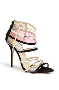 Shop Women's Jimmy Choo Sandal heels on Lyst. Track over 2747 Jimmy Choo Sandal heels for stock and sale updates. Walk In My Shoes, Fab Shoes, Dream Shoes, Pretty Shoes, Beautiful Shoes, Me Too Shoes, Mode Shoes, Jimmy Choo Shoes, Fasion