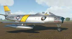 Korean War Sabre Sweet Rose CC Wally Yocum Skin by Jon Pritchard Korean War, Mustangs, Air Force, Fighter Jets, Aircraft, Rose, Vehicles, Sweet, Mustang