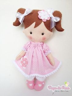 Moldes para hacer muñecas de fieltro03
