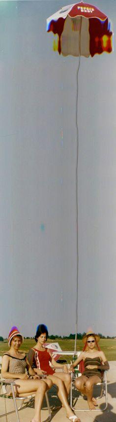 "// L'Art De L'Erreur / Glitch Art by Frances Berry ""Memory Extended"" Series Collages, Collage Art, Photoshop, Manipulation, Glitch Art, Vintage Art, Vintage Swim, Artsy Fartsy, Art Photography"