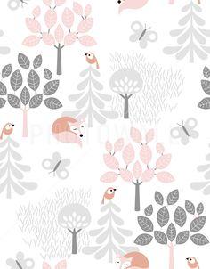Tree Top Pink - Fototapeter