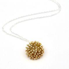 Dandelion Necklace Gold Dandelion Necklace, Silver Necklaces, Gold Necklace,  Pendant Necklace, Charm 8a242266e7
