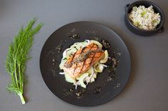 Grilled Salmon with Tapenade on Munchery