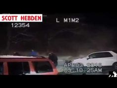Video: Mich. officer struck by car at collision scene