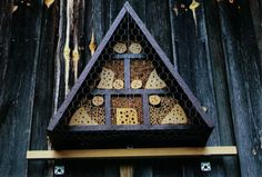 . Insect Hotel, Mason Bees, Bee House, Beekeeping, Habitats, Insects, House Ideas, Nesting Boxes, Bee