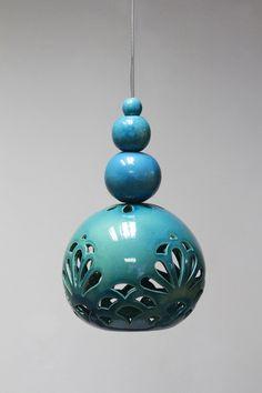 """ceramic lamp """" ORIENTAL DREAM """" design by joanna bylicka"""