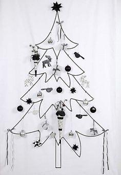♥christmas tree Alternatywną choinkę jako panel, obraz, naklejkę lub fototapetę samoprzylepną wydrukujesz na DEKORAMI http://dekorami.pl/pl/categories/886-o-choinka/images
