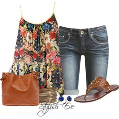 Summer! NADA by stylisheve on Polyvore
