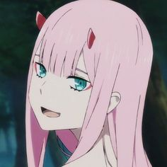 Marshmallow — Zero two icons from Darling in the Franxx -. Sad Angel, Pink Images, A Silent Voice, Cute Anime Pics, Anime Profile, Zero Two, Cute Icons, Animes Wallpapers, Darling In The Franxx