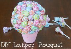 DIY Lollipop Bouquet - A Little Craft In Your