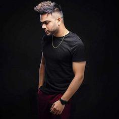 Punjabi Boys, Stars, Celebrities, Hair Styles, Hd Wallpaper, Music, Singers, Mens Tops, T Shirt