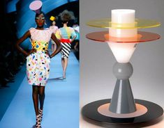 Dior inspired by Memphis design movement / Selected by www.20emesiecle.be