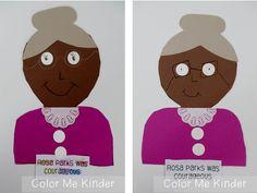 Color Me Kinder:  Black History Month Fun!