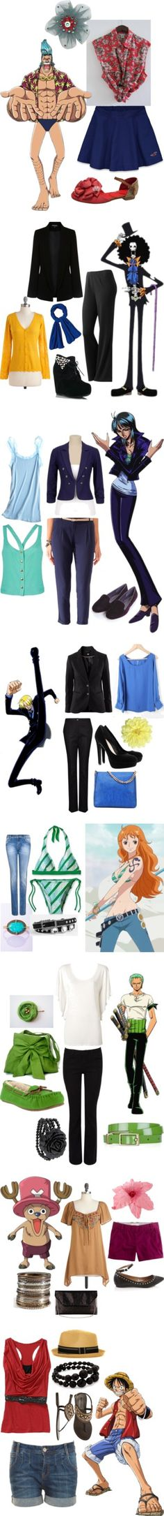 """One Piece"" by catloverd ❤ liked on Polyvore, for all you people who love One Piece"