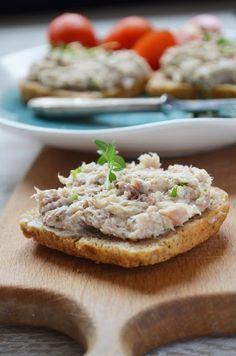 Pasta z wędzonej makreli | Kuchnia w zieleni