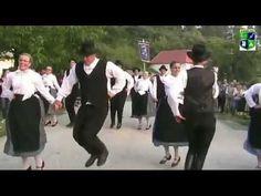 Tanzgruppe aus Saar beim 2. Schwabenjugendtreffen in Ganth 2012