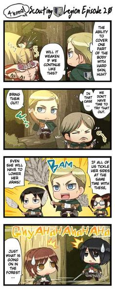 Read manga 4-Koma! Training Squad (Shingeki no Kyojin Chibi) 004 - Episode 16-22 FSnc online in high quality