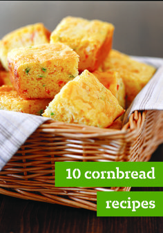 10 Cornbread Recipes – Served up at a potluck or passed along with the stuffing and green bean casserole at Thanksgiving, cornbread always seems to turn up when families get together. And for good reason, these cornbread side dish recipes are super versatile!
