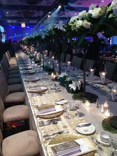 Table Design- Dinner Event at the Special Event Show