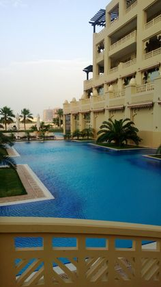 The Grand Hyatt Hotel Pool, Doha, Qatar