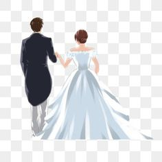 bride clipart,wearing a dress,holding hands,hold,wedding,couple,back view,cartoon bride and groom,wedding clipart,dress clipart,hands clipart,couple clipart,holding hands clipart,back clipart Wedding Scene, Red Wedding, Wedding Groom, Wedding Couples, Bride Clipart, Couple Clipart, Wedding Dress Suit, Wedding Dresses, Bride Cartoon