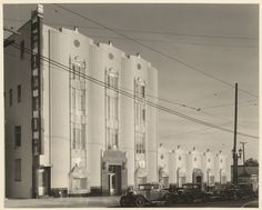 The Max Factor Building, Highland Avenue in Hollywood, 1936.