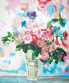 Title: Beautifully Colourful Medium: Oil paint on stretched canvas Size: x Stretched Canvas, Canvas Size, Still Life, Oil, Abstract, Medium, Artwork, Artist, Painting