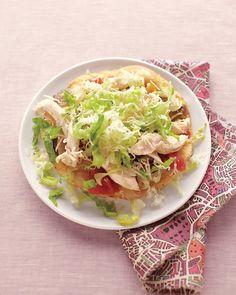 King Ranch Chicken Tostadas - Martha Stewart Recipes