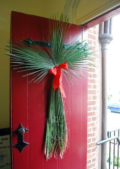 2014 All Saints' Church Palm Sunday Front Door