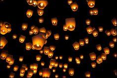 lanterns in Pingxi, Taiwan