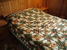 """Купить одеяло """"Подсолнухи"""" - комбинированный, покрывало пэчворк, покрывало, покрывало лоскутное, подсолнухи, Квилтинг и пэчворк"""