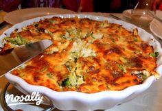 Brokkolis-sajtos sült burgonyapüré | Nosalty