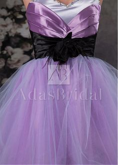 Charming Tulle Sweetheart Neckline Short Ball Gown Homecoming Dresses With Handmade Flowers