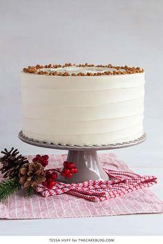 Eggnog Cake - CountryLiving.com