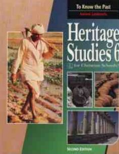 The Heritage Studies 6 Student Text is the 2nd edition and can be used in the Distance Learning Program. This text teaches your student about the lands, peoples, and cultures of ancient civilizations.