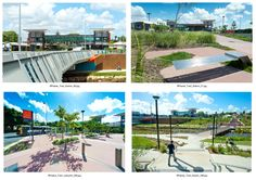 Bus Rapid Transit station design, Northern Busway, Brisbane Australia.  Photos courtesy Tract Pty Ltd