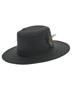 Hombre Sombreros - Jackdaw Wide-Brim Large Bleu - Sombrero para hombre  Sombreros Negros 8001c60f1c6a