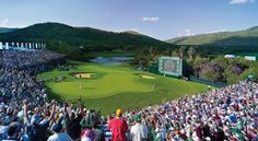 18th Hole Sun City, Gary Player course, Nedbank Golf Challenge 2011