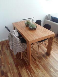 Classic minimal table with Eiffel chairs and Cooper terrariums  #minimal #livingroom #terrarium #diy #woodenfloor #art #homedecor #decor #japan #lifestyle #eiffel #vouge #garden #green #plants #homemede