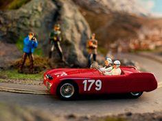 Slot cars, Slot Classic Cisitalia 202 SMM, CJ-43 'Mille Miglia 1947', Tazio 'Spyder' Nuvolari  See more photos at ManicSlots: http://manicslots.blogspot.com.au