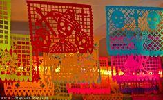 dia de los muertos decorations | ... Oaxaca Mexico Colour in the Streets dia de los muertos decorations