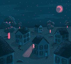 Nostalgia at Night by Maeve Norton