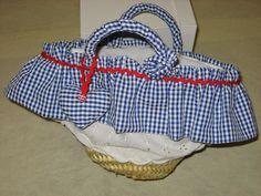 tricot e cannella:            Piccole BORSE in PAGLIA decorat...