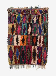 Couleurs Désert: The Visual History Woven into the Carpets of Morocco's Aït Khebbach | Yatzer