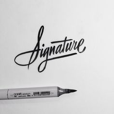Brush Lettering Collection No. 2 on Behance