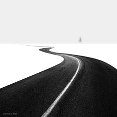 Road I. Photographer Hossein Zare