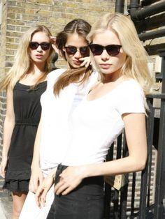 Roxy, Jaqueline and Svala in Taylor Morris Eyewear