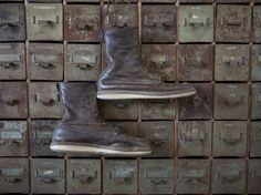 Vintage 100th year anniversary Red Wing Shoes