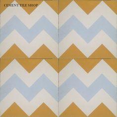 Cement Tile Shop - Encaustic Cement Tile | Chevron Multi